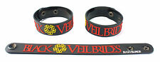 BLACK VEIL BRIDES  Rubber Bracelet Wristband Free Shipping Knives and Pens aa114