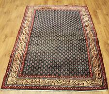 Persian Traditional Vintage Wool 208 cmX127cm Oriental Rug Handmade Carpet Rugs