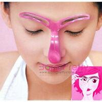 Details zu  Augenbrauen Schablone Form Anleitung Visagisten Makeup Komestik