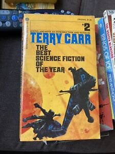 The Best Science Fiction Of The Year #2 Edited by Terry Carr - 1st Edition - PB
