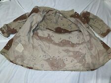 USMC ARMY OIF I Desert Chocolate Chip 6 COLOR Camouflage Coat JACKET MEDIUM REG