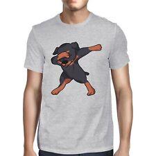 1Tee Mens Dabbing Rottweiler  T-Shirt