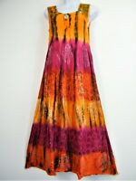 Lagen Look 100% Viscose Ruched Boddice Summer Dress Midi length 11Cols one size