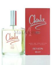 Charlie Red By Revlon For Women  Eau De Toilette 3.4 OZ 100 ML Spray