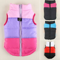Pet Dog Clothes Puppy Insulated Padded Jacket Warm Winter Dog Coats Puppy S M L
