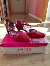 Chaussures de danse latine Merlet 37