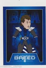 NRL CANTERBURY BANKSTOWN BULLDOGS CANTERBURY BREED SUPERHERO CARD TERRY LAMB