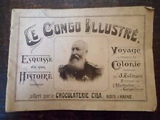 Le Congo illustré - Chocolaterie CIDA - 1925 - (Kwatta) - Belgium - Chromos