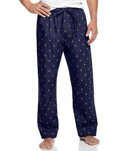 Polo Ralph Lauren Men's Big & Tall Light Weight Pajama Pant Navy/Cream 2X NWT