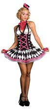 Adult Harlequin Honey Circus Clown Costume Size Large (Dreamgirl)