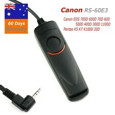 RS-60E3  Wired Remote Shutter Release for Canon 1100d 700d 650d 550d 760D