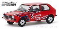 A.S.S NEU GreenLight 1/64 Volkswagen VW Rabbit Golf MK1 Caltex Hobby Exclusive