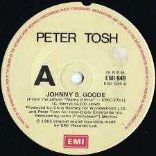 Peter Tosh ORIG OZ 45 Johnny B. Goode EX '83 EMI 949 Reggae Wailers