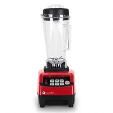 1500 watt Standmixer 2 Liter Ice BPA Smoothie Maker Universalmixer rot