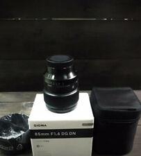 Sigma AF 85mm f/1.4 DG DN Art Sony E New