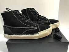 a697004c0f52 Women s Alexander Wang Black Perry Suede High Top Sneaker Size 9us