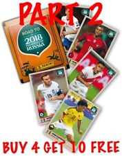 PANINI 2018 FIFA ROAD TO RUSSIA SINGLE STICKERS(2017) BUY 4 GET 10 FREE-PART 2