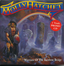Molly Hatchet Warriors Of The Rainbow Bridge RARE promo import CD single '05