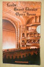 The Leeds Grand Theatre & Opera: Covent Garden Opera Programme 1949- LA TRAVIATA