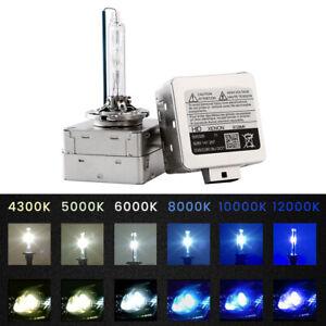 2Pcs Xenon D3S D3C D3R HID Bulbs 35W Headlight Replacement Bulb 4K 6K 8K 10K 12K