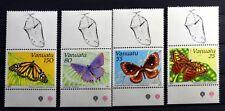 Stamps BUTTERFLY Vanuatu Yt 856/9 New MNH an408