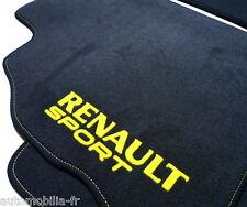 Renault Clio III RS 197 2006-2009 TAPIS VELOURS GRIS/JAUNE PREMIUM SPORT