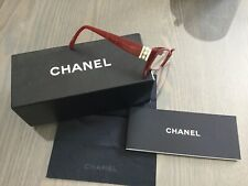 Monture de lunettes de vue CHANEL rouge collection «perles» impeccables