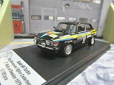 SAAB 99 Turbo Rallye 1979 Sweden Winner WM #3 Blomqvist Cederberg Trofeu 1:43