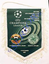 Pennant Shakhtar Donetsk Ukraine Celtic Scotland CHAMPIONS LEAGUE 2007/2008
