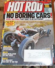 HOT ROD MAGAZINE Feb. 2010- Rebel hot rods, Chevy heads tested, supercharger