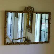 Antique Louis Xv Style Over Mantle Mirror