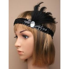 NEW Black lace fabric stretch browband headband bandeaux festivals fashion hippy