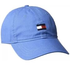 4e474d5baac Tommy Hilfiger Men s Ardin Dad Hat Baseball Cap Strapback Blue with Tommy  Flag!