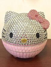 Bling Hello Kitty Crystal Diamond Tissue/Toilet Paper Holder! Best Home Deco!