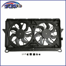 New Radiator Cooling Fan Assembly For Chevy Cadillac GMC SUV Pickup Truck