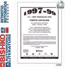1997 1998 1999 Jeep Wrangler Parts Numbers Book List Cd Interchange Images Fits 1999 Jeep Wrangler