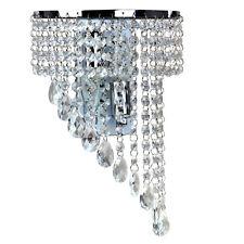 Fuloon Modern Luxury K9 Crystal LED Wall Lights Wall Sconce Hallway Fixture Lamp