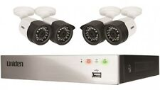 UNIDEN GUARDIAN GDVR4T40 FULL HD DVR SECURITY SYSTEM 4 x WIRED CAMERAS 4 CHANNEL