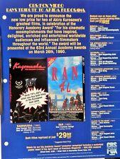 Kagemusha / Ran (Video Dealer Brochure 1990S) Japan Akira Kurosawa Classics
