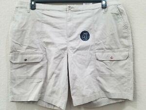 "KAREN SCOTT Women's PLUS Size 20W Cargo Shorts**Comfort Waist*10"" Inseam**NWT"