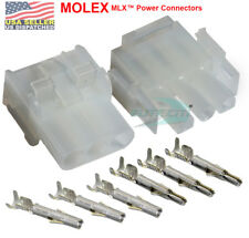 Molex -1 Complete Set - (3 Circuit) w/14-20 AWG, Wire Connector - 2.13mm D, MLX™