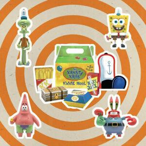 SUPER 7 SpongeBob ReAction Figures Wave 1 - Krusty Krab Kiddie Meal NYCC 2020