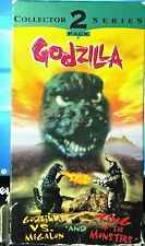 Godzilla Vs. Megalon And King Of The Monsters 2 Movies On 1 Tape (VHS, 1996)