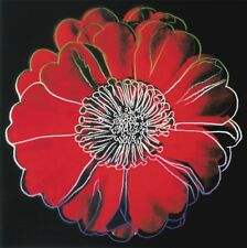 """ANDY WARHOL - Flower (Black & Red) 40"""" ART PRINT POSTER - LAST ONE OUT OF PRINT"""