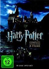 Harry Potter Komplettbox / 1+2+3+4+5+6+7.1+7.2 (8-DVD-Box) *Neu+OVP*