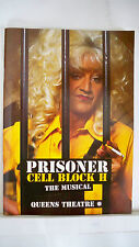 PRISONER CELL BLOCK H The Musical Playbill LILY SAVAGE / LIZ SMITH London 1995
