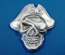 The Pirate One Eyed Willie Goonies Silver Ingot  17.81toz  Bison Mint .999