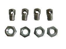 4 Bike Mudguard Eyelet Nuts & Bolts For Fitting Cycle Mud Guards