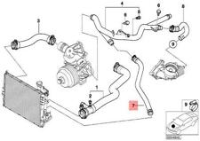 Genuine BMW E46 Sedan Wagon Cooling System Water Hose OEM 11532247852