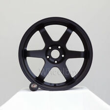 4   ROTA WHEEL GRID 19X9.5  5X114.3 15 73 FLAT BLACK